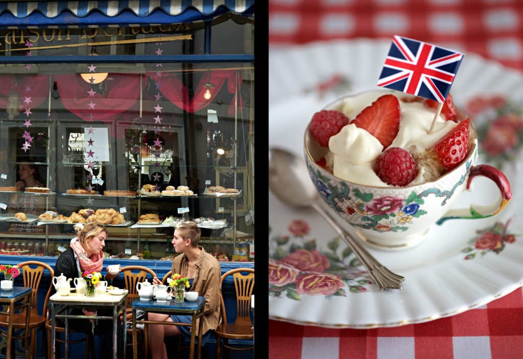 Trifle Cafe people tea cup Flag