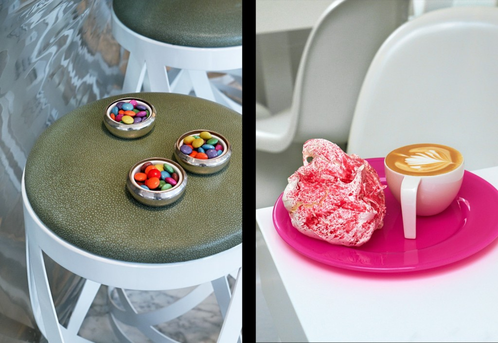 sweet chair meringue coffee